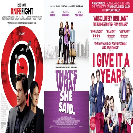 0545.- Knife Fight [2012] - That's What She Said [2012] - I Give It a Year [2013]